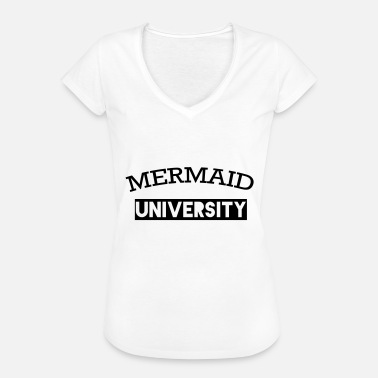 University Mermaid University Mermaids University - Vintage-T-shirt dam