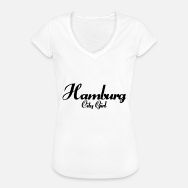 Hamburg City Girl Hamburg City Girl - Frauen Vintage T-Shirt
