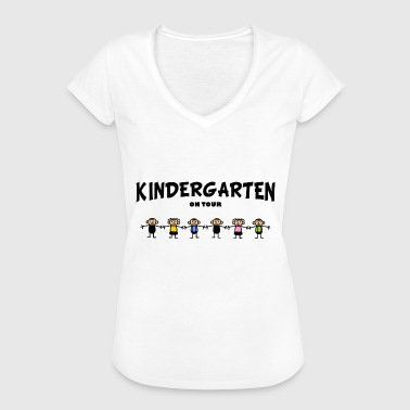 Children Kindisch Kindergarten on Tour - Women's Vintage T-Shirt