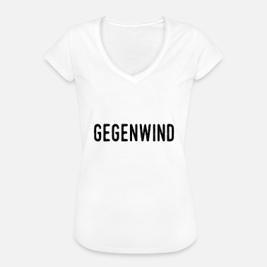 Headwind - No to FPÖ and ÖVP - Women's Vintage T-Shirt