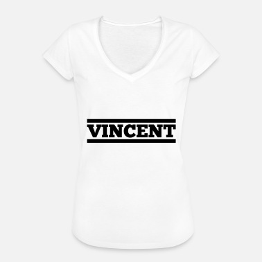 Vincent Vincent gift birthday Christmas - Women's Vintage T-Shirt