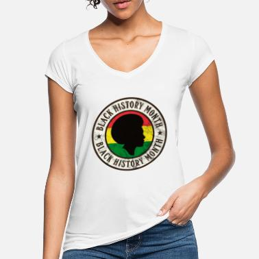 Afro Africa Strong Pride Black Power History Africa - Maglietta vintage donna