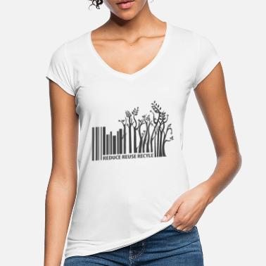 Sustainable Sustainability barcode - Women's Vintage T-Shirt