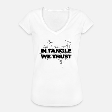 We Trust IN TANGLE WE TRUST - We trust the Tangle - Women's Vintage T-Shirt