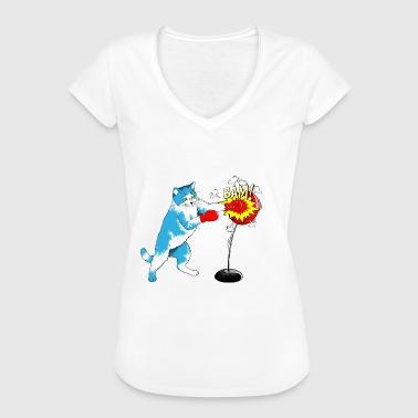 Soft Paw Hard, but with velvet paw - Women's Vintage T-Shirt