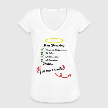 Dressing - Frauen Vintage T-Shirt