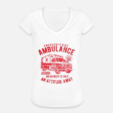 Ambulans Kläder AMBULANS - Ambulans Shirt Design - Vintage T-shirt dam 026a379b54e61