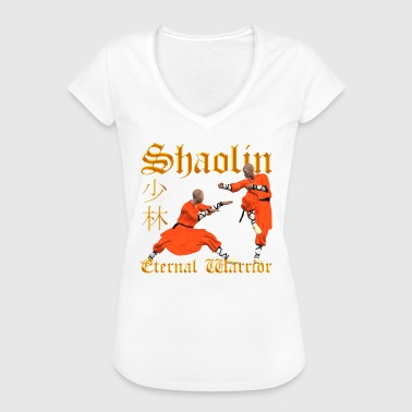 Shaolin Design Shaolin Warrior - Women's Vintage T-Shirt