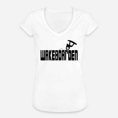 Black Water Wakeboarden Black Water Gift - Vrouwen Vintage T-shirt