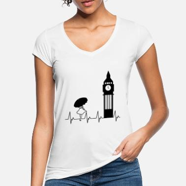 Big Ben London Big Ben - Frauen Vintage T-Shirt