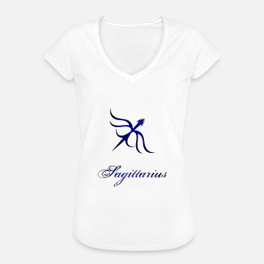Star Sign Shooter Zodiac: Sagittarius - Women's Vintage T-Shirt