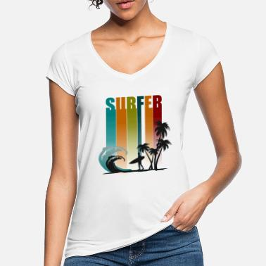 Surf Surfer - Frauen Vintage T-Shirt