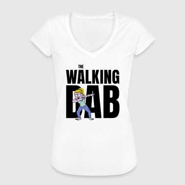 The Walking DAB Zombie Girl Dabbing Halloween sw - Frauen Vintage T-Shirt