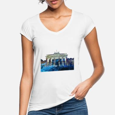 Brandenburger Tor Berlin Brandenburger Tor Deutschland Germany - Frauen Vintage T-Shirt