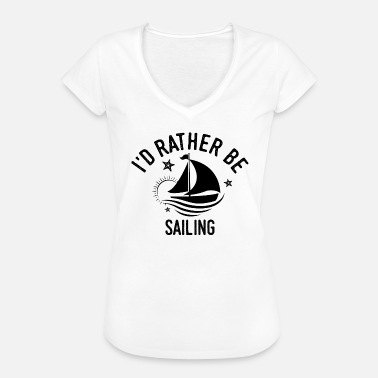 Saying Sailor Sailor Sayings Sailing sailor sailor Cool Funny saying gift - Women's Vintage T-Shirt