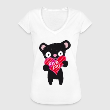 Love Bear - Frauen Vintage T-Shirt