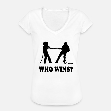 Tug Of War Jokes tug of War - Women's Vintage T-Shirt