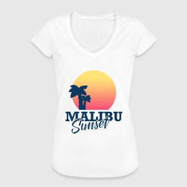 Malibu Sunset - Frauen Vintage T-Shirt