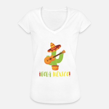 Mexico Holiday HOLA MEXICO - Women's Vintage T-Shirt