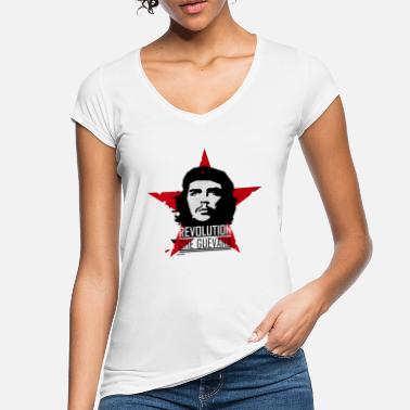 Che Che Guevara Red Star Communism - Camiseta vintage mujer