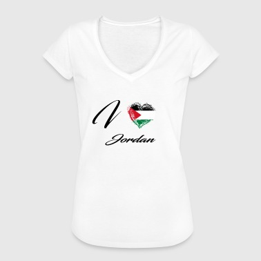Jordan I Love Home Flag Country Roots Jordan - Women's Vintage T-Shirt