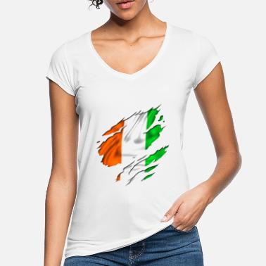 Rugby day flag ireland irish - Women's Vintage T-Shirt