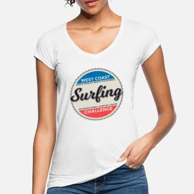 Match International Surfing International Graphic - T-shirt vintage Femme