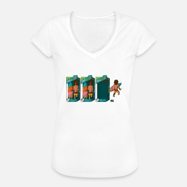 Funny Surfer Toy - Women's Vintage T-Shirt