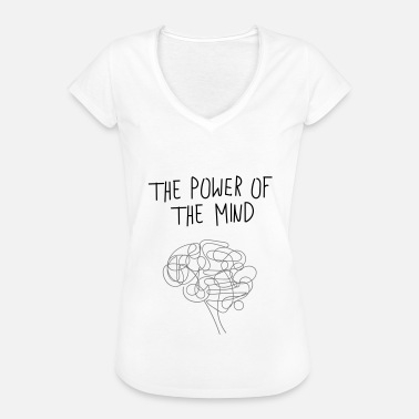 Mind Power ThePowerOfTheMind - Women's Vintage T-Shirt