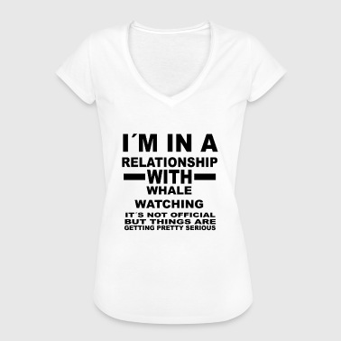 Whale Watching relationship with WHALE WATCHING - Women's Vintage T-Shirt