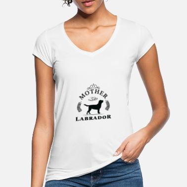 I Love Mutter Labrador Tshirt Frauchen Geschenk I Love Mutter - Frauen Vintage T-Shirt