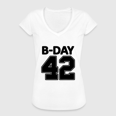 Number 42 / 42nd birthday number jersey number - Women's Vintage T-Shirt