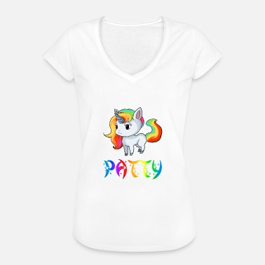 Patty Unicorn Patty - Vintage-T-shirt dam