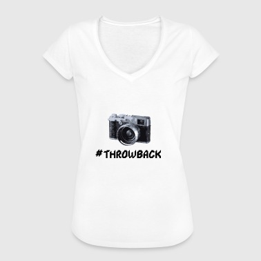 Movie Camera Throwback movie camera - Women's Vintage T-Shirt