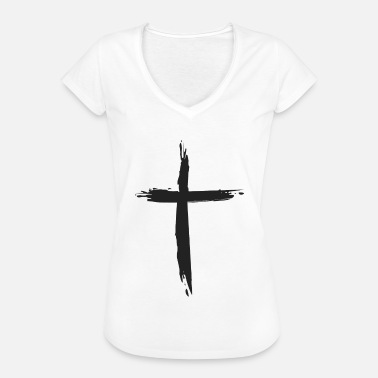 Worship Cross cross - Women's Vintage T-Shirt