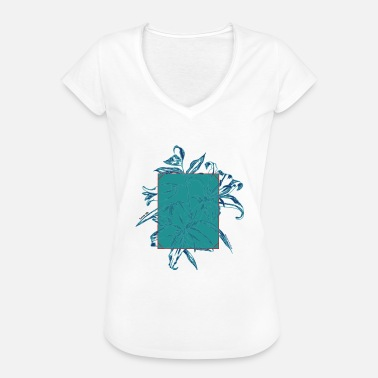 Lilies lily - Women's Vintage T-Shirt