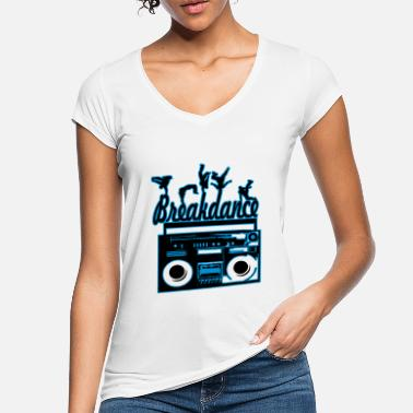 Breakdance breakdance - Camiseta vintage mujer