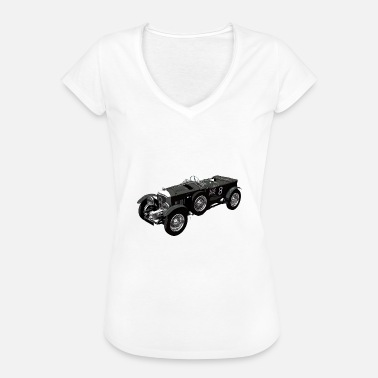 Le Mans Classic Bentley 4.5 litre classic race car - Women's Vintage T-Shirt