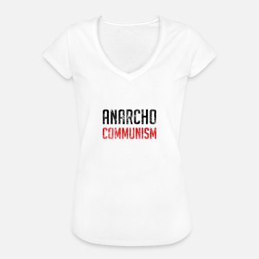 Communisme Anarcho Communism - Vrouwen Vintage T-shirt