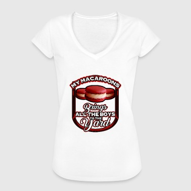 My Macaroons Brings all the Boys to the Yard Cute - Women's Vintage T-Shirt