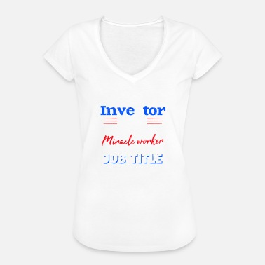 Investor real estate shares investment magic - Women's Vintage T-Shirt