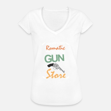 Gun Saying Funny saying Guns Guns Gift hunting - Women's Vintage T-Shirt