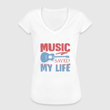 Music Saved My Life Music saved my life - Frauen Vintage T-Shirt