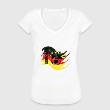 Semifinals Football Tshirt Germany gift in black - Women's Vintage T-Shirt