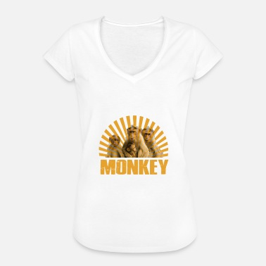Urban Monkey With Swag monkeys - Women's Vintage T-Shirt