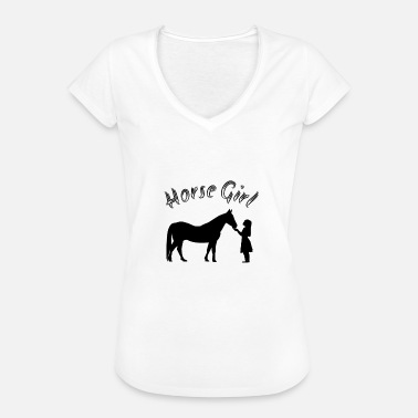Pony Girl Horse Girl - horses and ponies lovers - Women's Vintage T-Shirt