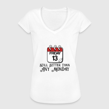 Friday the 13th. - Women's Vintage T-Shirt