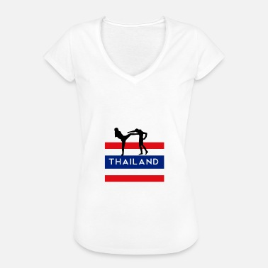 Asian Art Asian Martial Arts Muay Thai Shirt Boxing - Women's Vintage T-Shirt