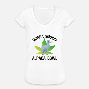 Paysbas Wanna Smoke? Alpaca Bowl - T-shirt vintage Femme