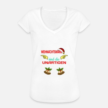 Lusty Dear Santa, these are the naughty Lusti - Women's Vintage T-Shirt
